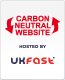 UKFast Carbon Neutral Badge