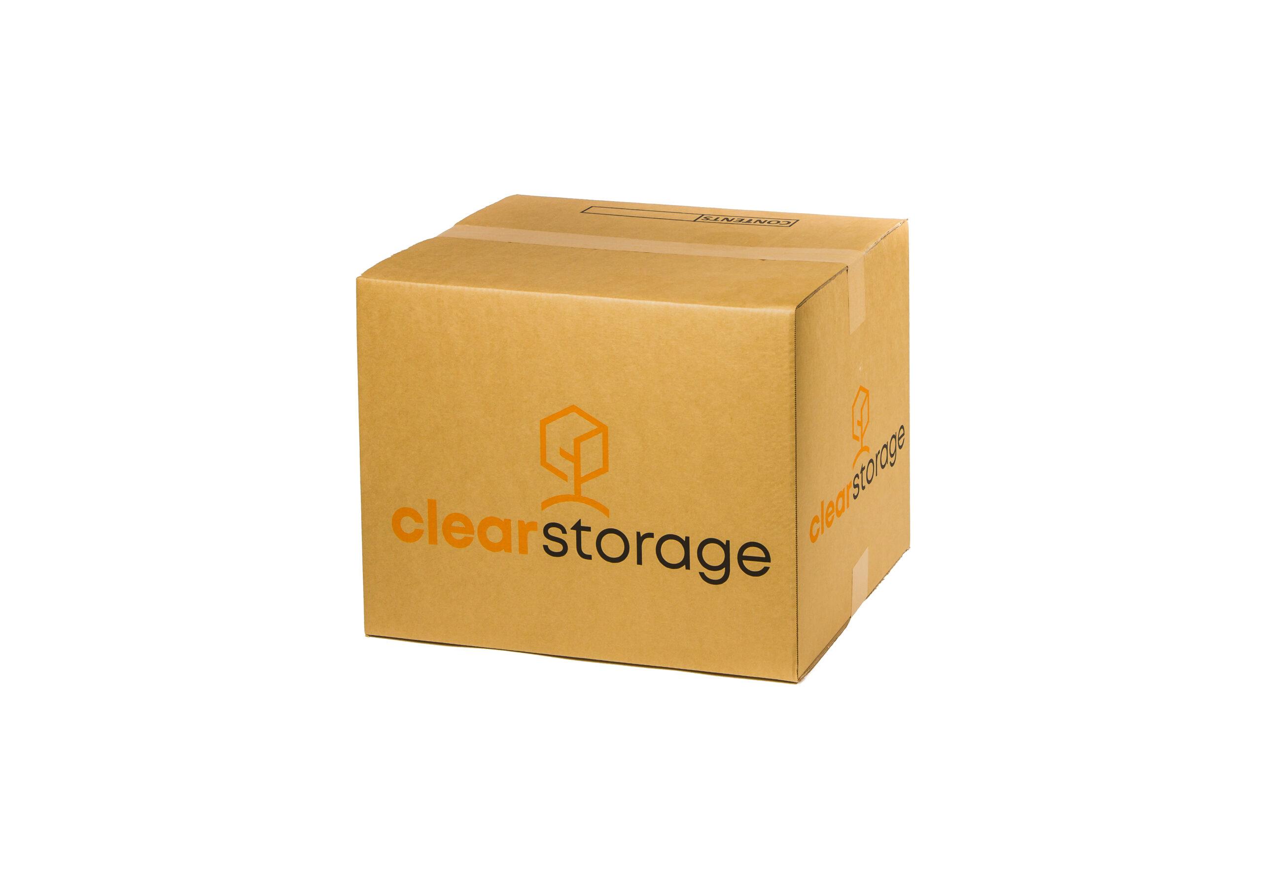 Medium box - Clear Storage Packaging