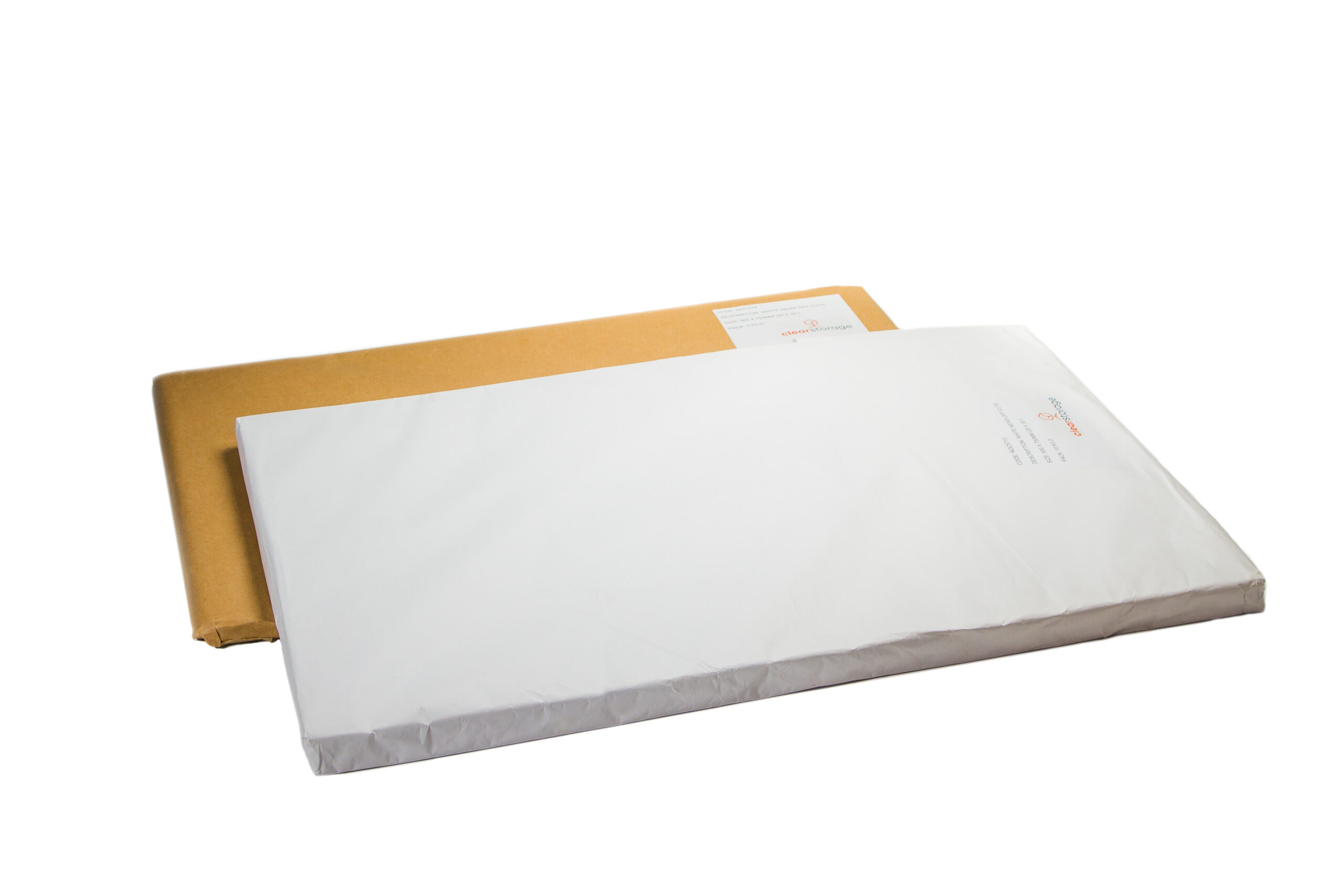 Paper Wrap - Clear Storage Packaging