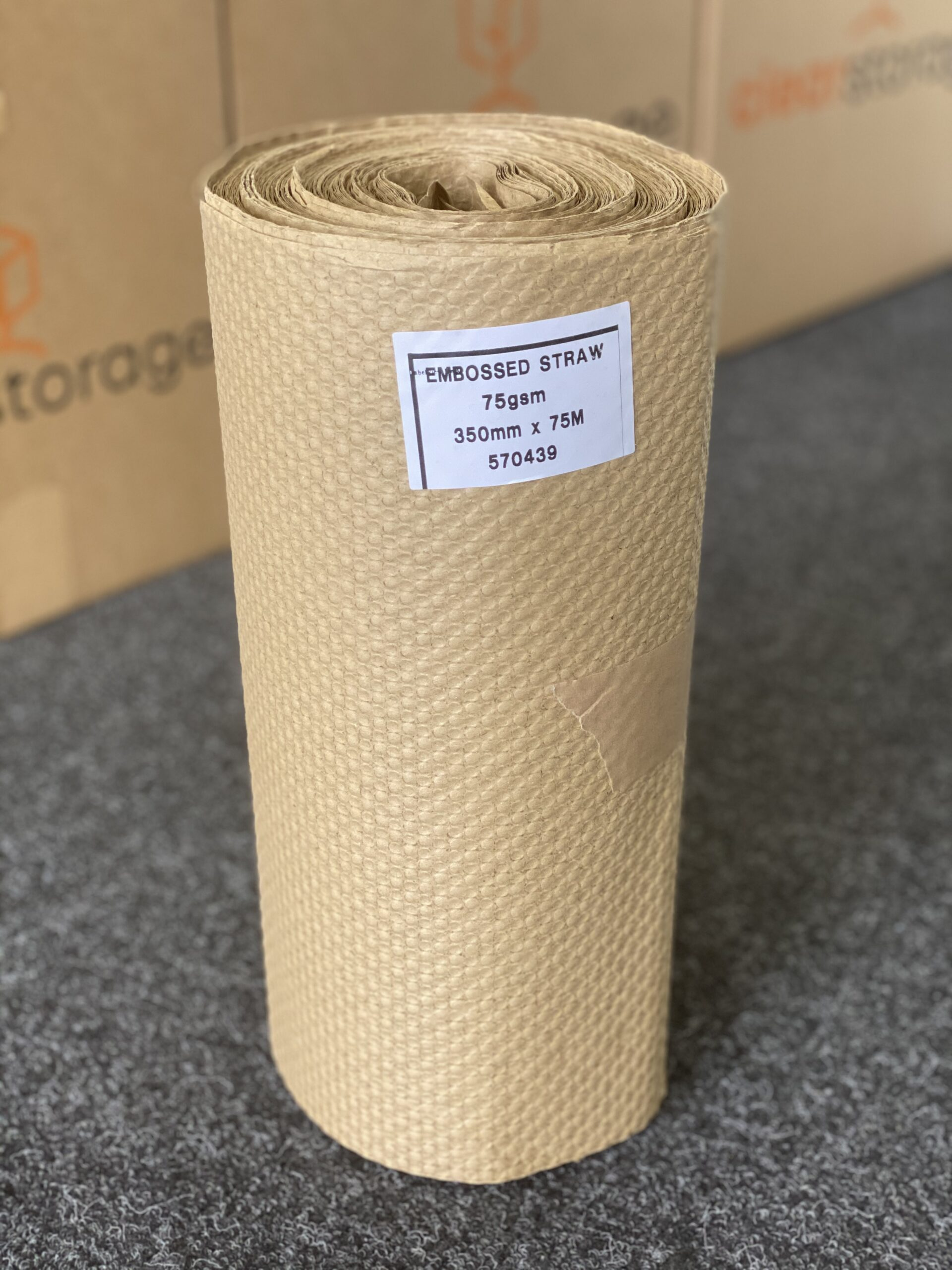 Recycled Puff Packaging For Storage